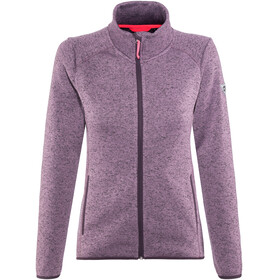 High Colorado Rax 3 Strickfleece-Jacke Damen violett melange